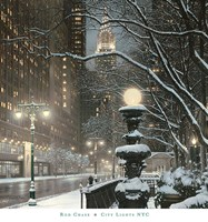 City Lights NYC Fine Art Print