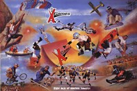 X Games Wall Poster