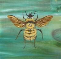 Yellow Bumble Bee Fine Art Print