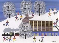 Winter Station Fine Art Print