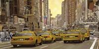 Taxi a New York Fine Art Print