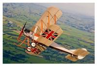 Royal Aircraft Factory BE 2c Fine Art Print