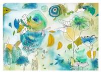 Of Succulents and Birds Fine Art Print