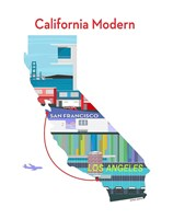 California Modern Fine Art Print