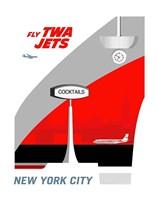 Fly TWA Jets Fine Art Print