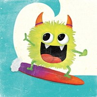 Xtreme Monsters III Fine Art Print