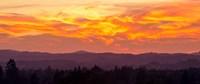 Blazing Sunset Fine Art Print