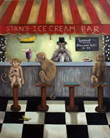 Monkey Business Fine Art Print