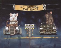 Rat Race 1 Fine Art Print