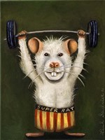 Super Rat Fine Art Print