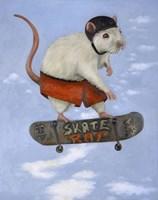 Skate Rat Fine Art Print