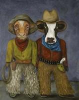 Real Cowboys Fine Art Print