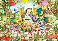 The Mad Tea Party Fine Art Print