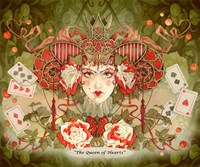 The Queen Of Hearts Fine Art Print