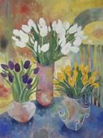 Hand Painted Vases Fine Art Print