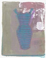 Wardrobe Pink And Blue Fine Art Print
