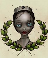 Zombie Nurse Fine Art Print