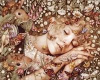 Charlotte Asleep Fine Art Print