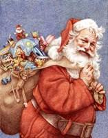 Finished Santa Fine Art Print