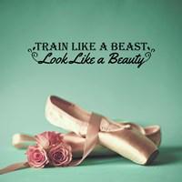 Train Like A Beast Color Fine Art Print