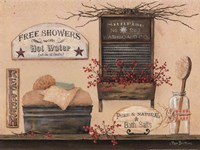 Free Showers Fine Art Print