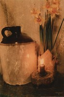 Daffodils by Candlelight Fine Art Print