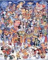 Clown Town Fine Art Print