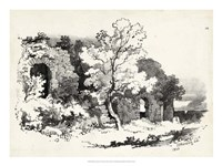 Idyllic Landscape VI Fine Art Print