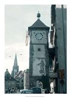 Clock Tower I Fine Art Print