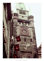 Clock Tower II Fine Art Print
