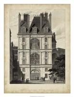 Fontainbleau, Porte Doree Fine Art Print