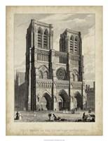 West Front-Notre Dame Fine Art Print