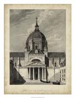 Eglise de Sorbonne Fine Art Print