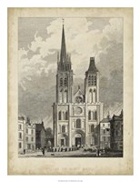 Eglise de St. Denis Fine Art Print