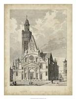 Eglise de St. Etienne-Du-Mont Fine Art Print