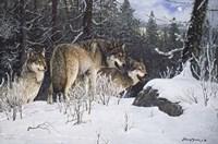 Hunter's Ridge Fine Art Print