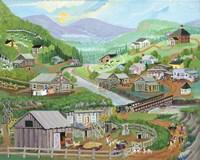 Happy Valley Fine Art Print