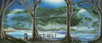 Moon River Fine Art Print