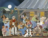 Bluegrass Buddies Fine Art Print