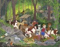 Walk in the Woods Fine Art Print
