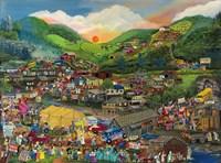 Shantytown Revival Fine Art Print