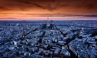 Paris In Cold and Warm Fine Art Print