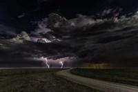 Prairie Lightning Fine Art Print