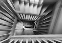 Old Staircase Fine Art Print