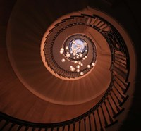 The Brewer Staircase Fine Art Print