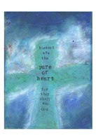 Blessed Are The Pure In Heart 1 Fine Art Print