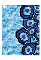 Other Half Of Blue White Agates Fine Art Print