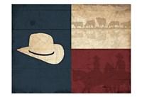 Texas Hat Fine Art Print