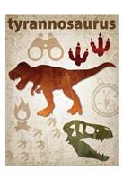 Tyrannosaurus Dinosaur Fine Art Print