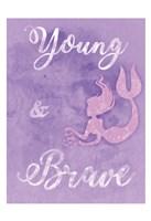 Brave Mermaids Fine Art Print